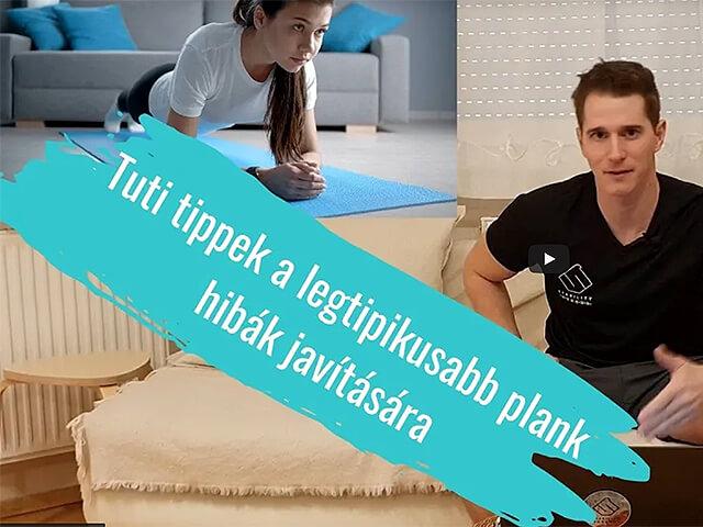 Ez a legnagyobb hiba a plank-kel!